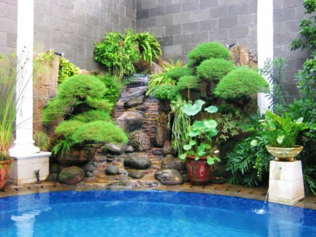 Kolam Taman Minimalis