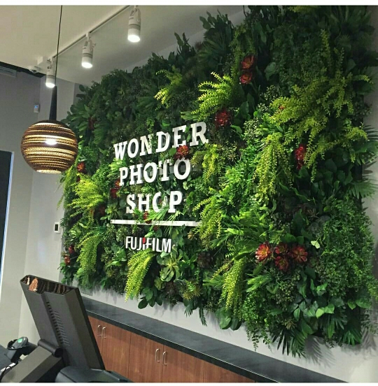 Taman Vertical Garden Sintetis atau Artificial untuk Indoor dan Outdoor dengan harga murah di Jakarta Depok Tangerang bekasi Bogor