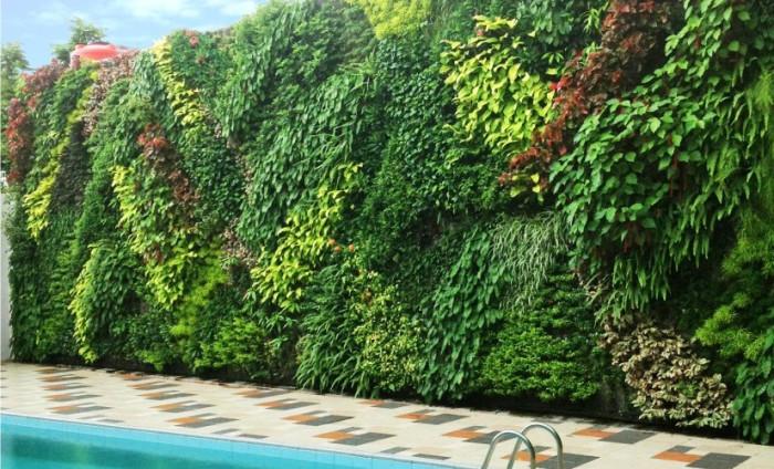 Vertical garden Jakarta Utara