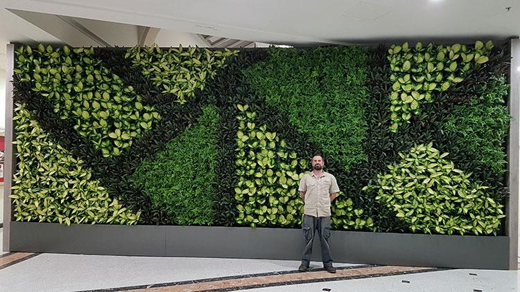 Vertical Garden Jakarta Timur