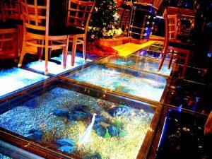 Aquarium Lantai Ruangan