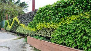 Taman Vertical Garden Tangerang Desain Artistik