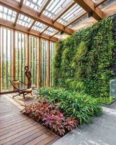 Taman Vertical Garden Indoor Depok
